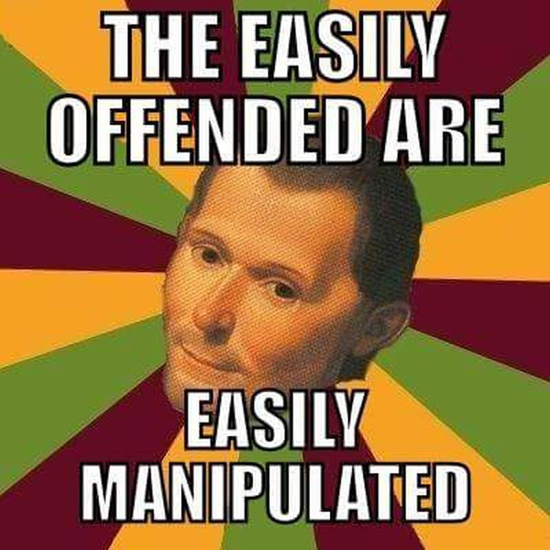 machiavelli-offended