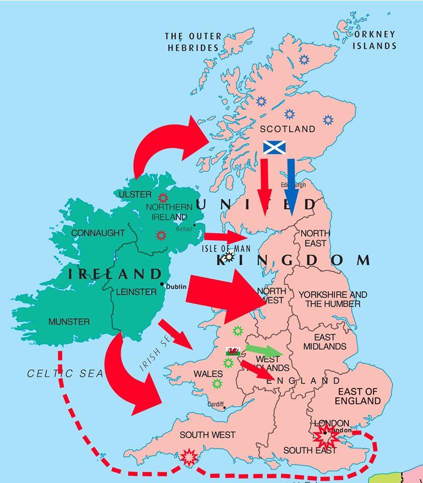 uk battle map