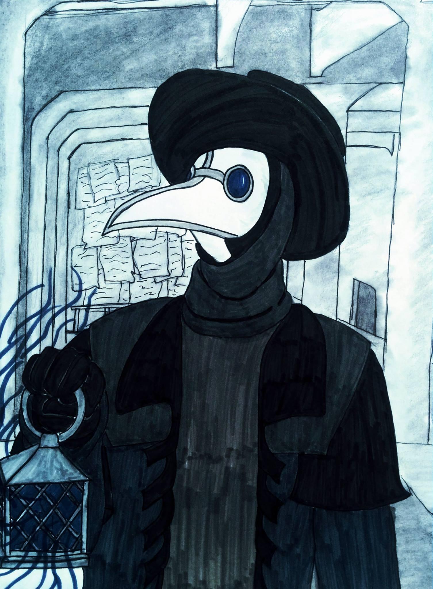 modern plague doctor